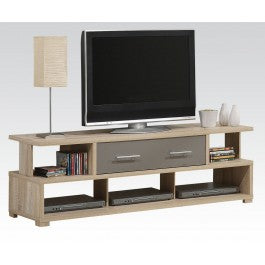 Modern Light Oak TV Storage