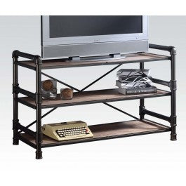 Caitlin Metal & Wood TV Stand