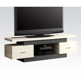 Mod Dual Shelf Wood TV Stand