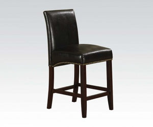 EMPERIOR BLACK COUNTER HEIGHT CHAIR