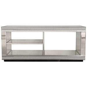 Biarritz Mirrored TV Unit-Living Room-Furniture Walk UK