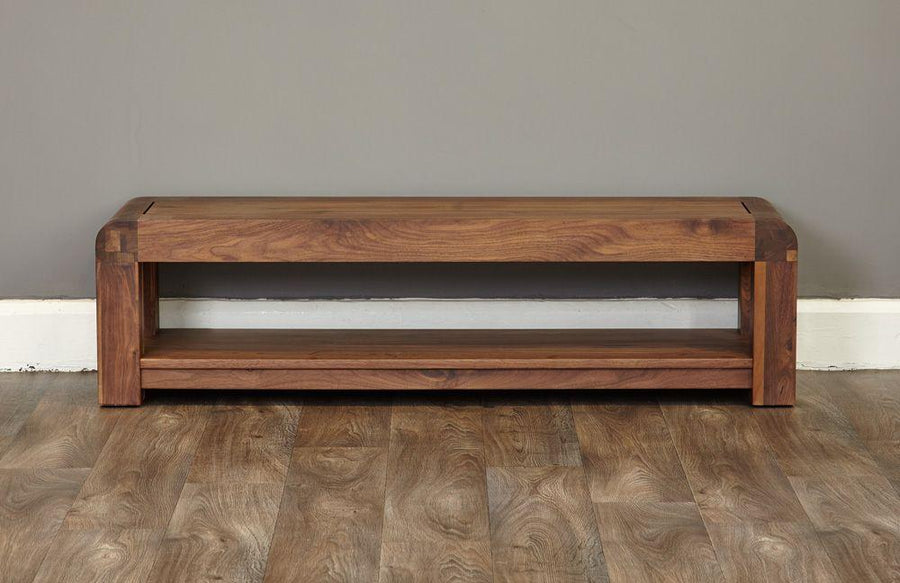 Lundy Walnut Low TV Cabinet