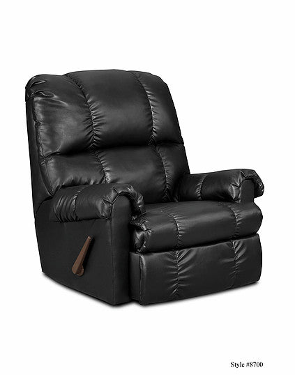 Denver Black Recliner