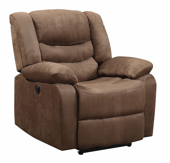 MF Cocoa Power Recliner