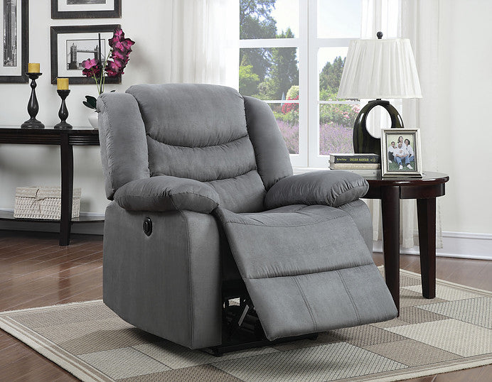 MF Gray Power Recliner