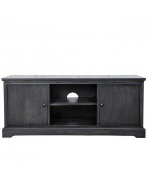 Grey Delta Entertainment Unit-Living Room-Furniture Walk UK