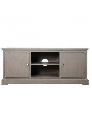 Taupe Delta Entertainment Unit-Living Room-Furniture Walk UK
