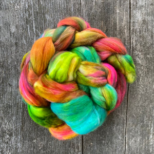 Meadow - Hand Dyed Roving - Pre order