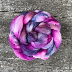 Very Berry - Hand Dyed Roving - Pre order