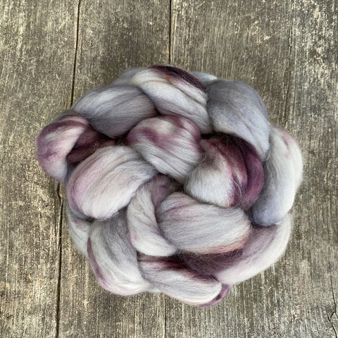 Smoke Show - Hand Dyed Roving - Pre order