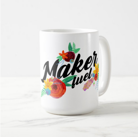 Maker Fuel coffee mug - 15oz.