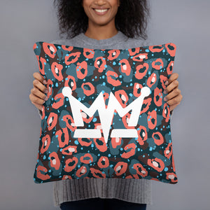 "MM ""Colorful Leopard"" Pillow"