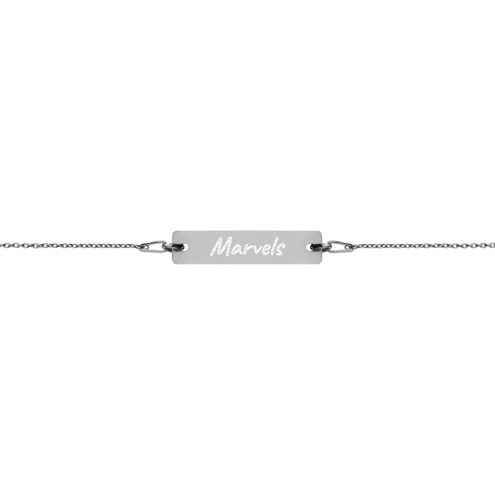 MM Custom Engraved Bracelet