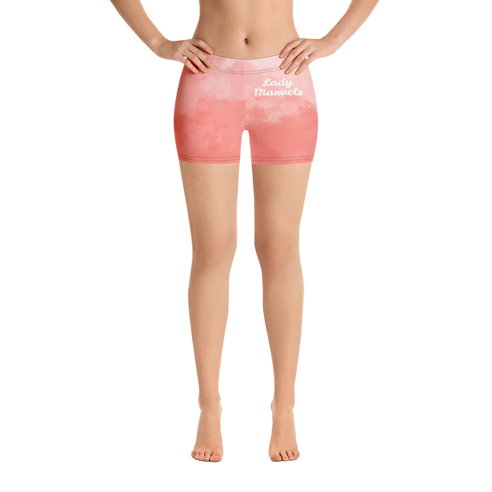 "LM ""Peach Clouds"" Shorts"