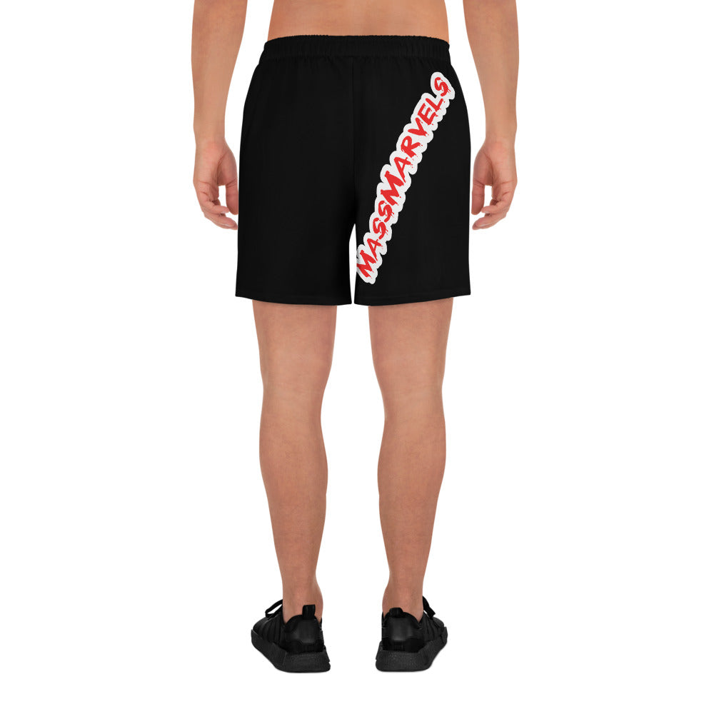 "MM ""Red Drip"" Shorts"
