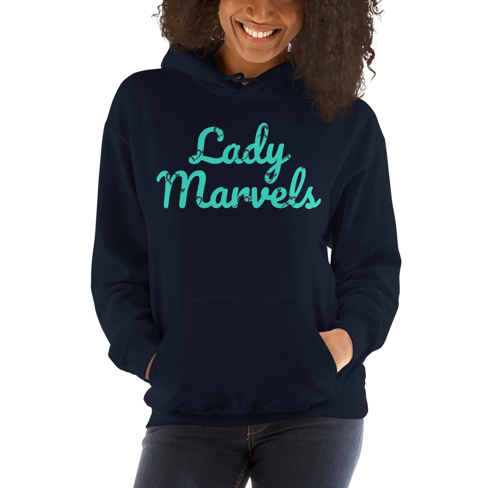 LM Hearts Hoodie (Turquoise)