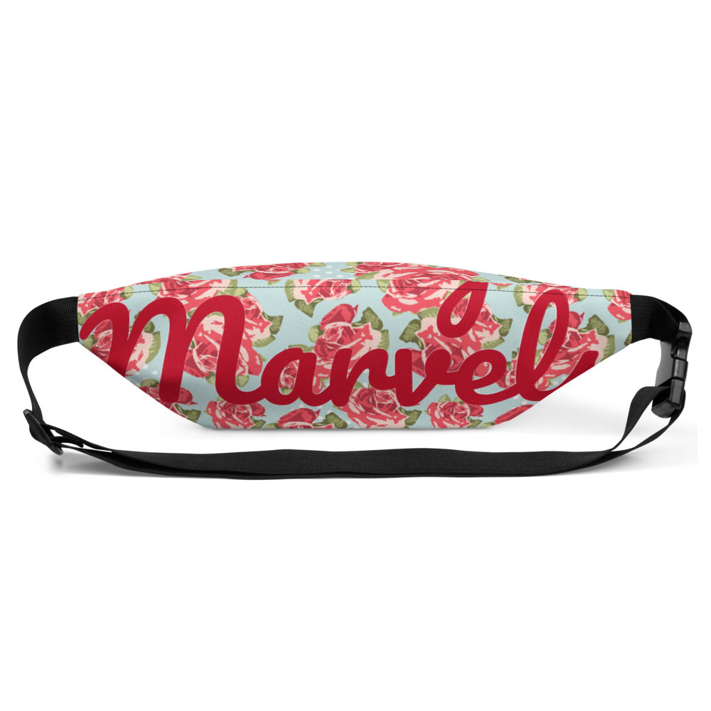 "LM ""Flowers"" Fanny Pack"