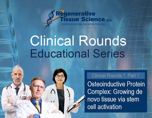 Clinical Rounds Educational Series: Growing de novo bone & cartilage tissue