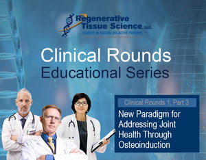 New Paradigm for Addressing Joint Health Through Osteoinduction