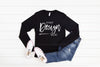 3501 Bella Canvas Mockup Long Sleeve Tshirt |  BLACK