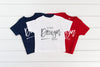 3301T Rabbit Skins Mockup Toddler Jersey Tee |  NAVY, WHITE & RED