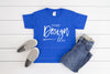 5000B Gildan Mockup Kids Tshirt  |  ROYAL