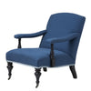 BLUE LOUNGE CHAIR | EICHHOLTZ TRIDENT
