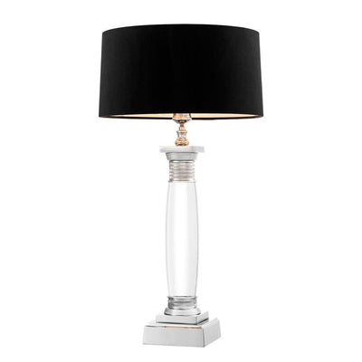 BLACK TABLE LAMP | EICHHOLTZ ELBA