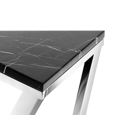 BLACK MARBLE SIDE TABLE | EICHHOLTZ GALAXY