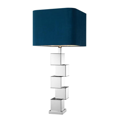 BLUE VELVET TABLE LAMP | EICHHOLTZ SIRENA