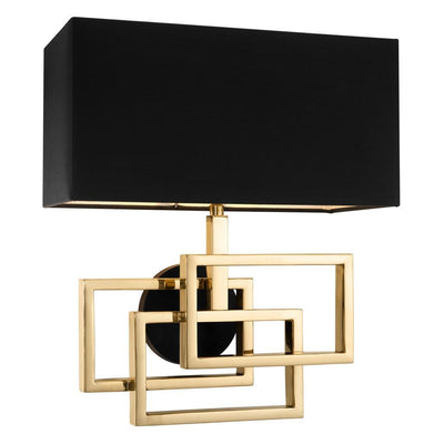 BLACK WALL LAMP | EICHHOLTZ WINDOLF