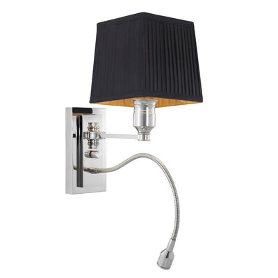BLACK WALL LAMP | EICHHOLTZ ELLINGTON