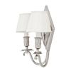 DOUBLE SILVER WALL LAMP | EICHHOLTZ DIAMOND