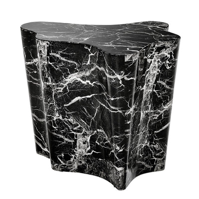 BLACK MARBLE SIDE TABLE | EICHHOLTZ SCEPTRE