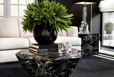 BLACK COFFEE TABLE | EICHHOLTZ DIAMOND