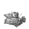 ANTIQUE SILVER TRAY | EICHHOLTZ MAPLE LEAF