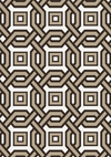 BROWN & WHITE RUG | EICHHOLTZ DIABOLO (7X10)