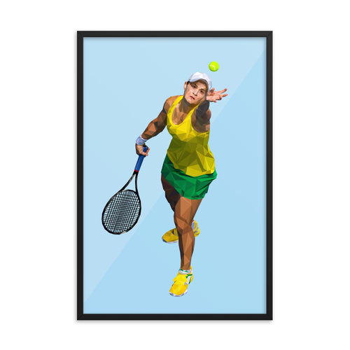 Ash Barty - Framed Artwork