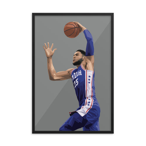 Ben Simmons - Framed Artwork