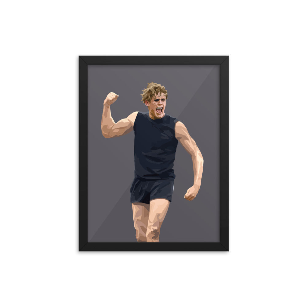 Charlie Curnow - Framed Artwork