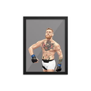 Conor McGregor - Framed Artwork