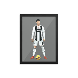 Cristiano Ronaldo - Framed Artwork