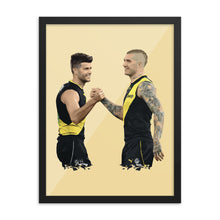 Load image into Gallery viewer, Dusty and Cotchin - Framed Artwork