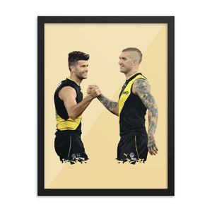 Dusty and Cotchin - Framed Artwork