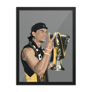 Daniel Rioli Premiership Edition - Framed Artwork
