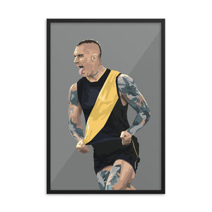 Dustin Martin Premiership Edition - Framed Artwork