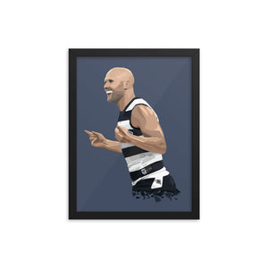 Gary Ablett - Framed Artwork