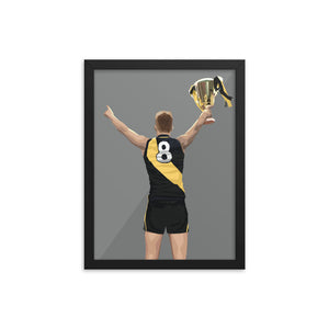 Jack Riewoldt Premiership Edition - Framed Artwork