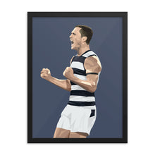 Load image into Gallery viewer, Joel Selwood - Framed Artwork
