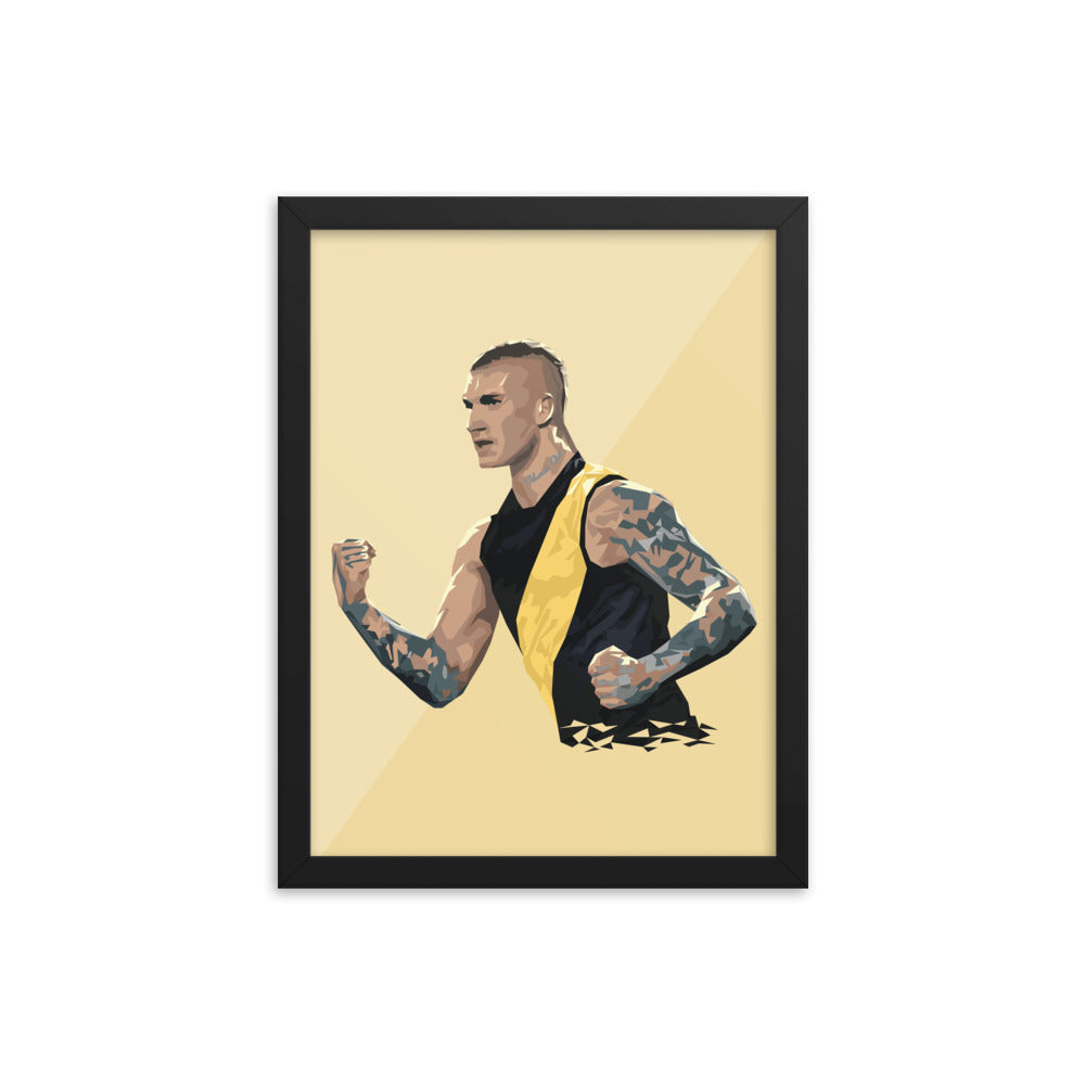 Dustin Martin - Framed Artwork